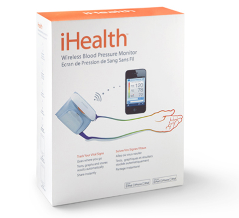 iHealth Labs blood pressure package
