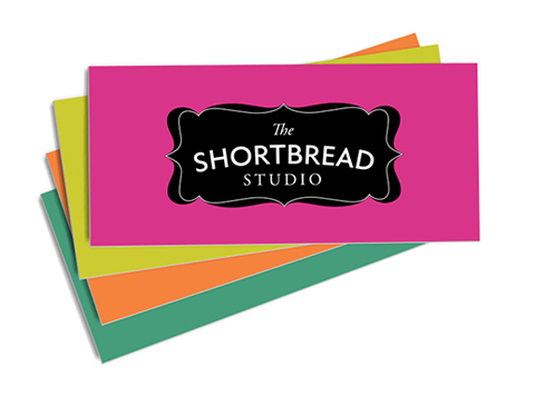 The Shortbread Studio business cards