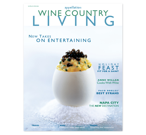 Wine Country Living Cover