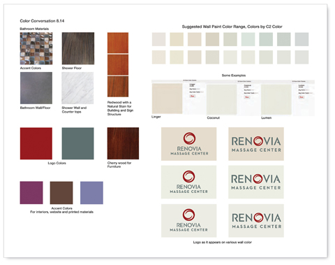 renovia interior colors