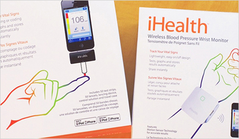 iHealth Labs close-up